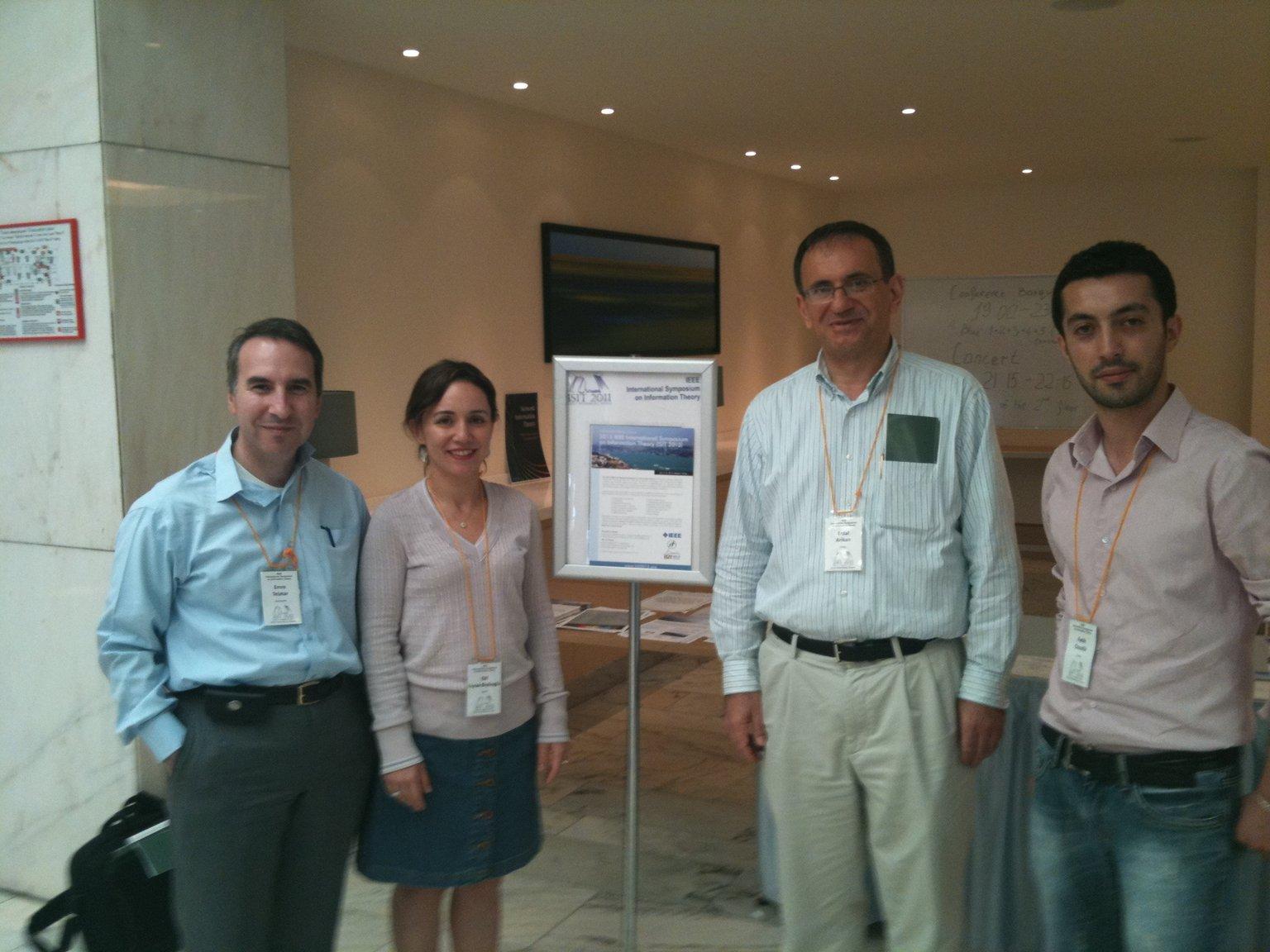 ISIT 2011 (International Symposium On Information Theory)